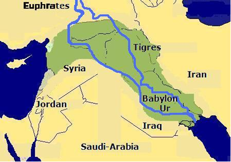 tigris and euphrates river world map Figure aDetailed map showingTigris River On World Map