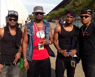 Nigerian Music Stars (PSquare , Naeto c)  in SouthAfrica for Channel