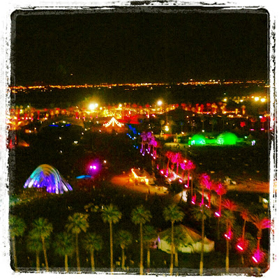 Coachella art and music festival 2012