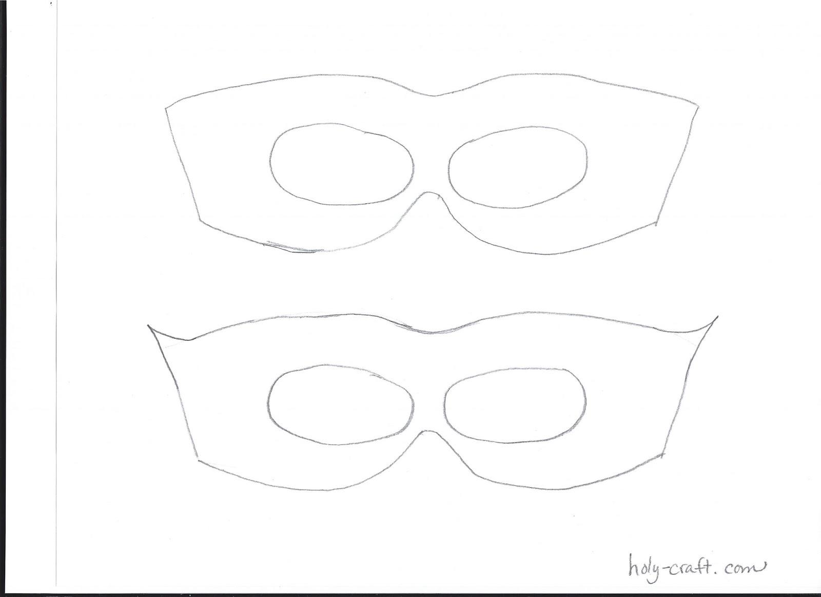 Super hero mask and crown tutorial with free template rachel teodoro maxwellsz