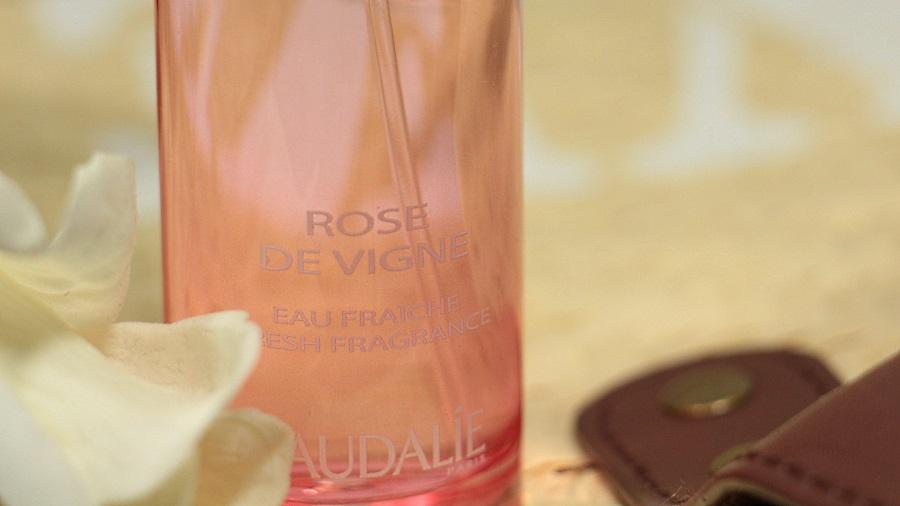 eau parfumée rose de vigne caudalie