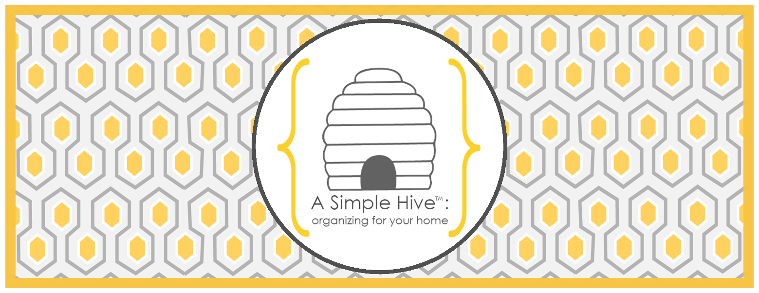 A Simple Hive | Organizing for Your Home