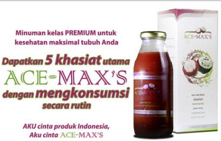 Ace maxs sendiri merupakan obat herbal multikhasiat yang terbuat dari ...