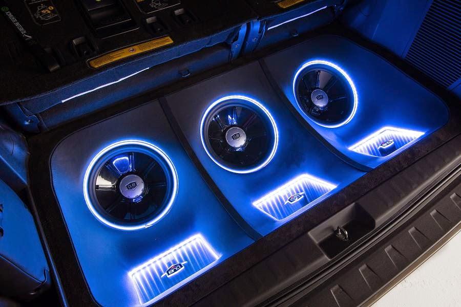 Toyota Sienna DUB Edition (2015) Audio System
