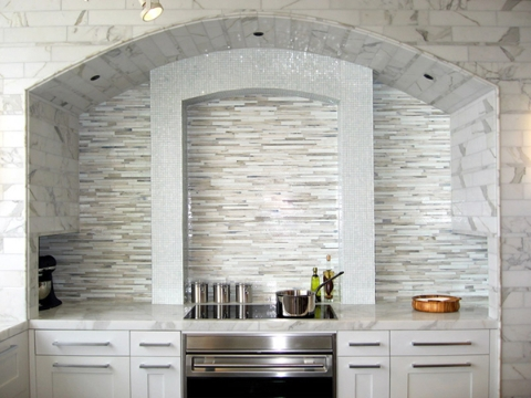 Backsplash Ideas For White Cabinets The Kitchen Design