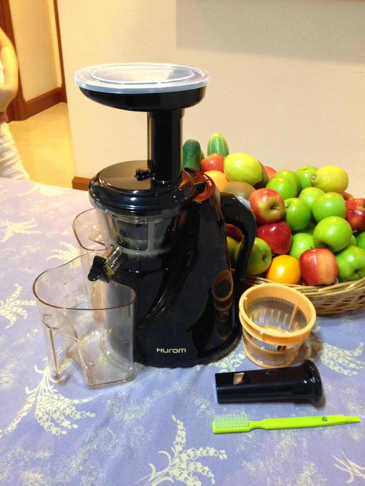 Expatriate in KL: Hurom Juicer & Juicing: Lose Weight in a Healthy Way