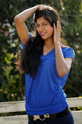 Sneha Tagore Photo shoot in Blue-thumbnail-11