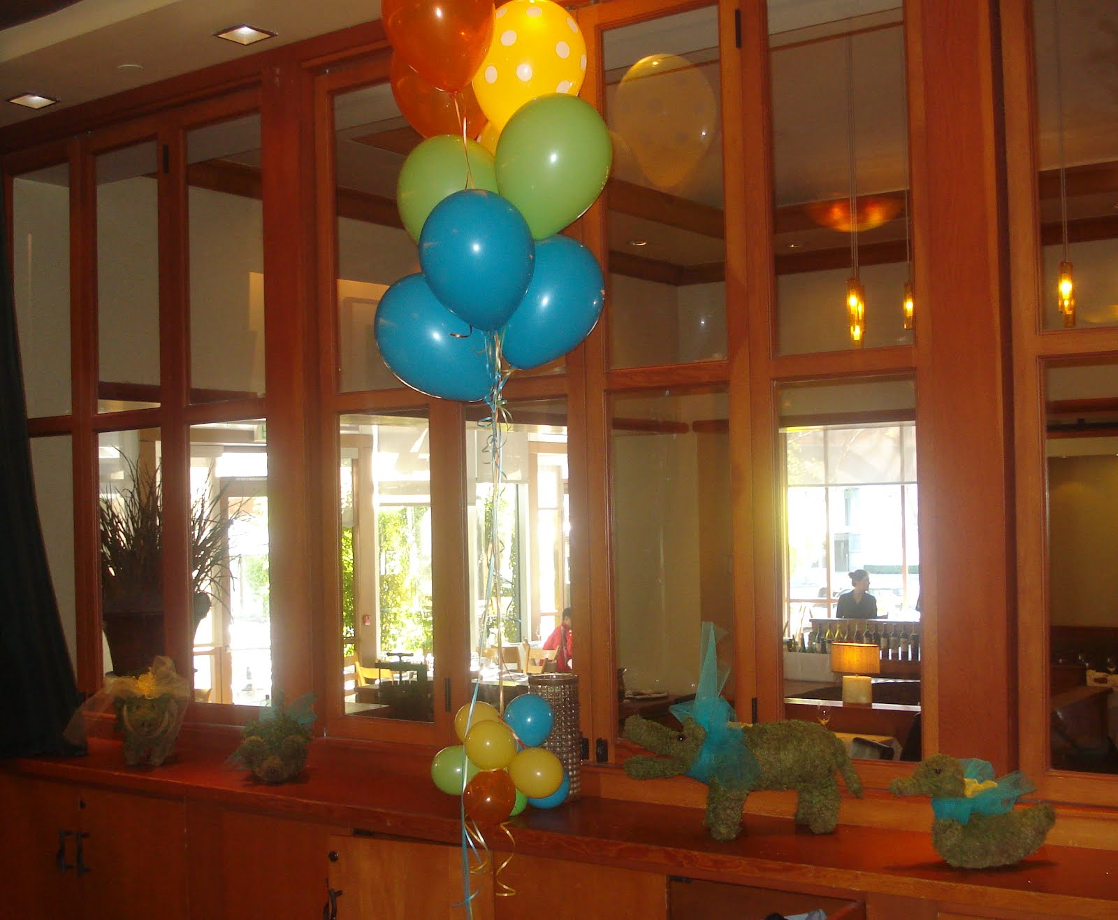 Balloons and animal topiaries Nautical by Nature