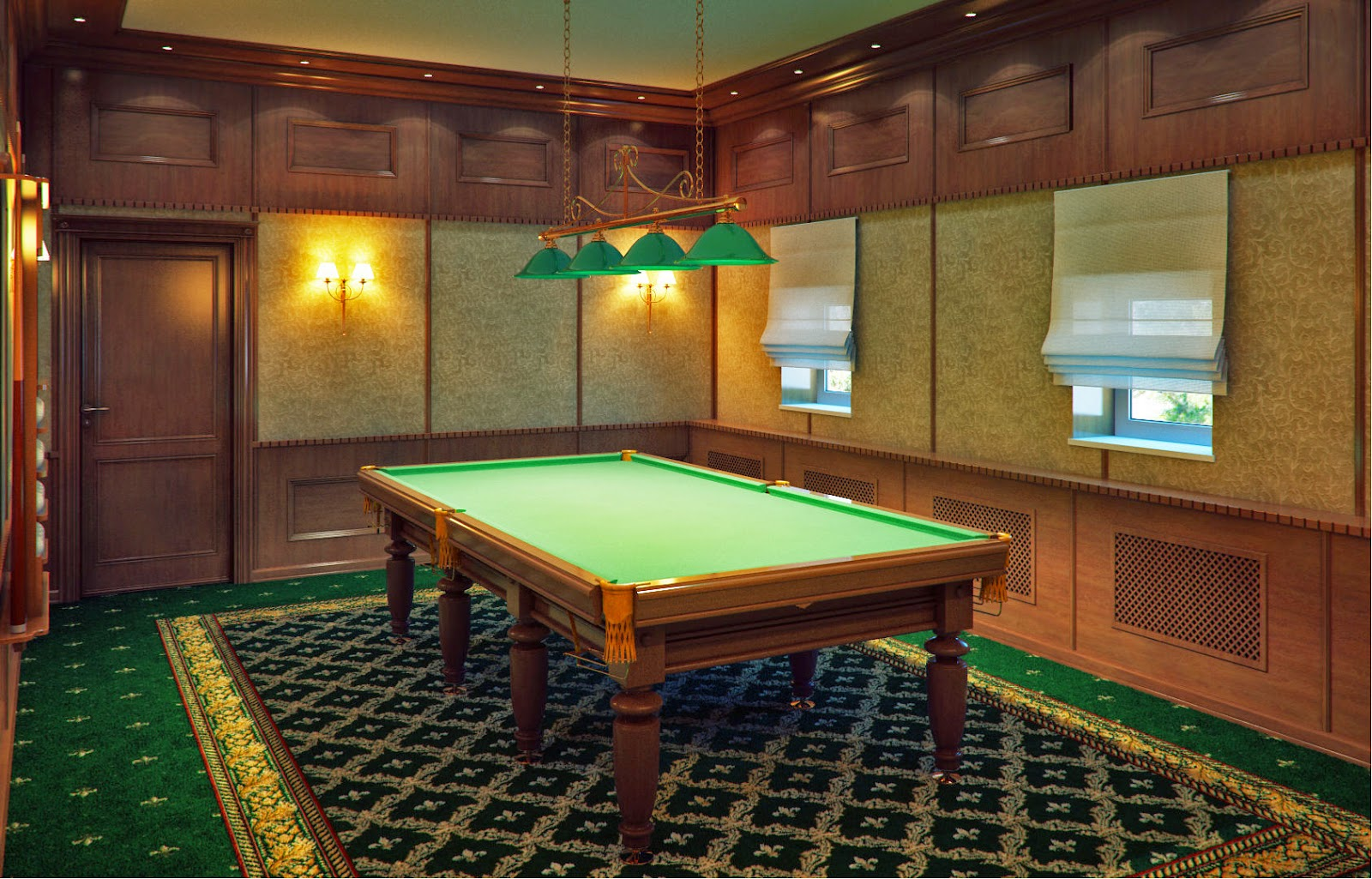 Willowbrook Park Billiard Table