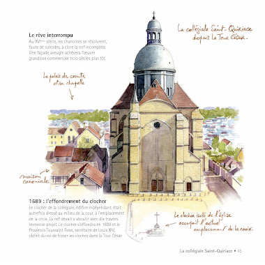 La façade de Saint-Quiriace