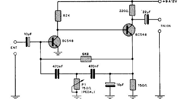 Circuito Guitarra Electrica : Diagramas de electronica circuito pedal efectos para
