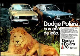propaganda Dodge Polara 78. reclame de carros anos 70. brazilian advertising cars in the 70. os anos 70. história da década de 70; Brazil in the 70s; propaganda carros anos 70; Oswaldo Hernandez;