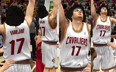 NBA 2K13 Cleveland Cavaliers Home Jersey Patch