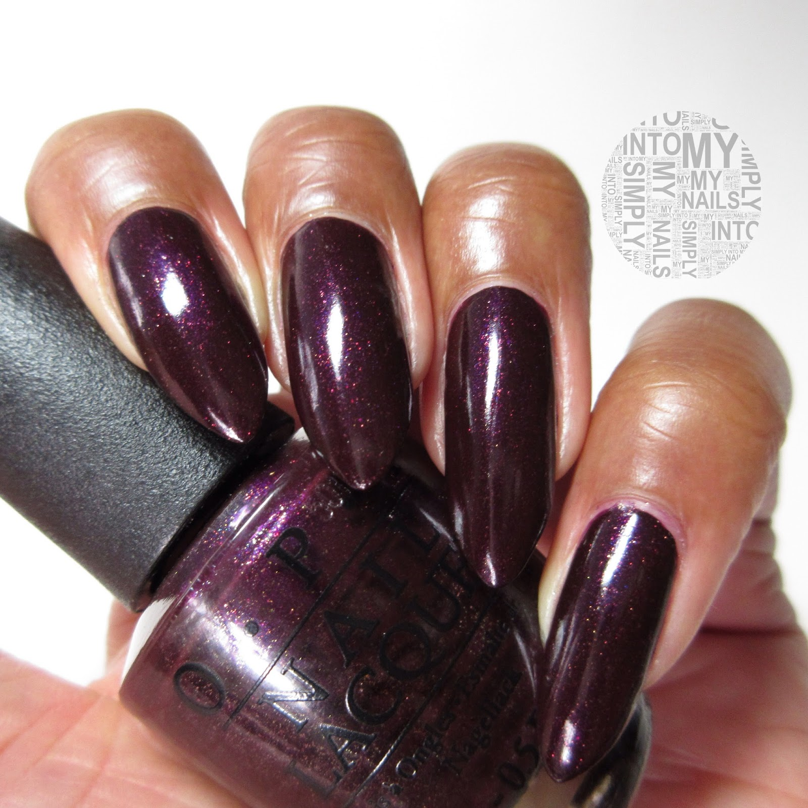 Mini Manicures Opi Stir Fried Eggplant