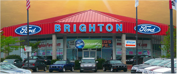 Brighton Ford Serves Fenton, MI