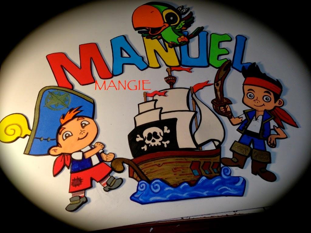 Cartel Jake y los piratas