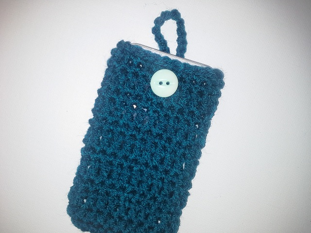 Free Crochet Pattern Mobile Phone Case : Raising Mimi @PoochieBaby: Crochet Cell Phone Case: Free ...