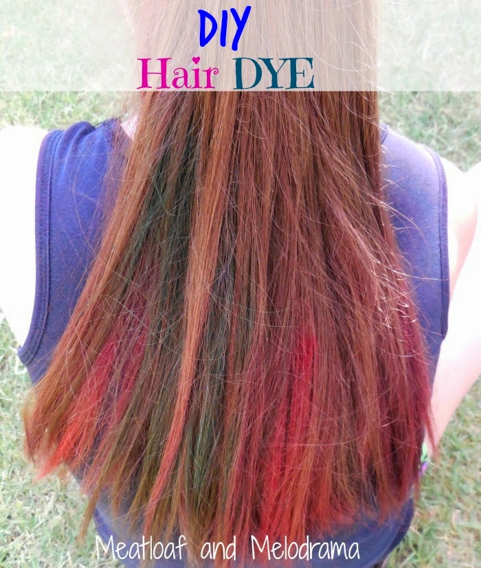 how to color your hair with food dye. Black Bedroom Furniture Sets. Home Design Ideas