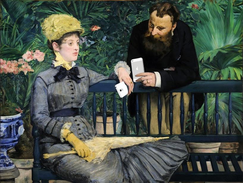 Эдуард Мане В консерватории (1878-1879)