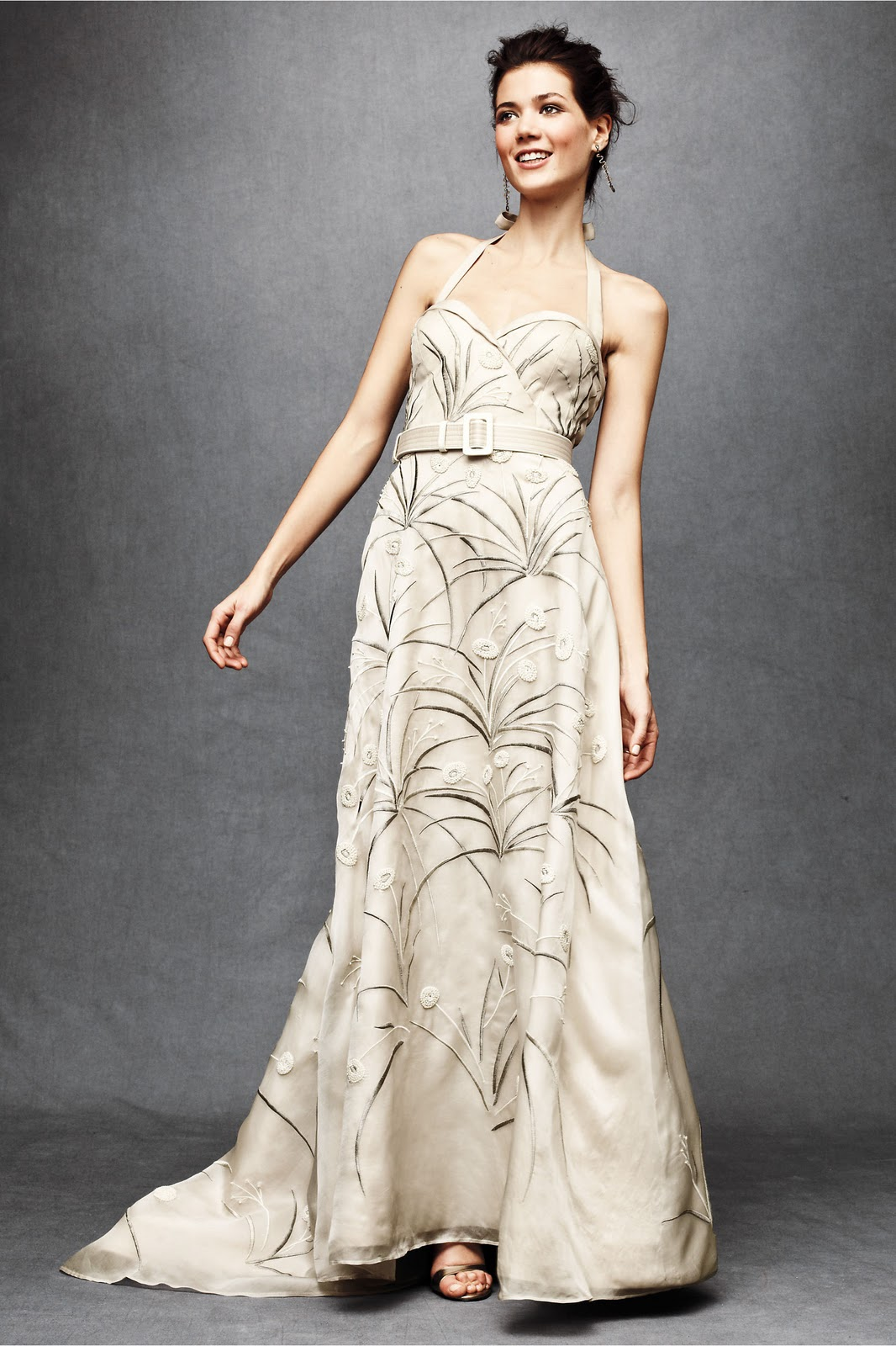 You had me at handmade february 2011 for Anthropologie beholden wedding dress