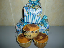 Doorgift cupcake marble