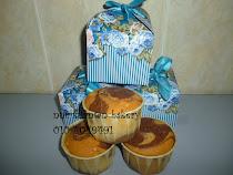 Doorgift cupcake marble