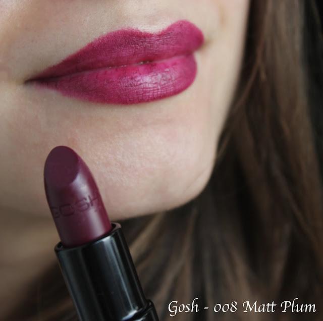 gosh plum lipstick