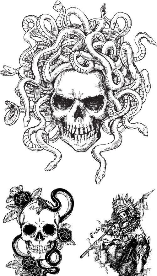 Skull Tattoos for Girls