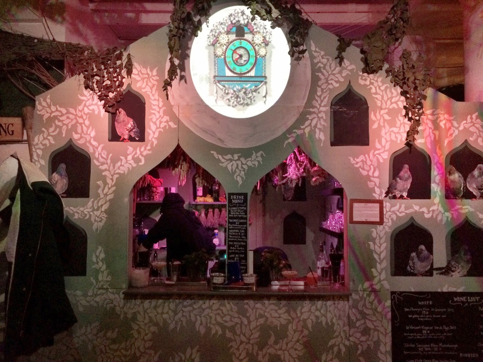 The bar at the avery house - Lost Gardens Of Gingerline