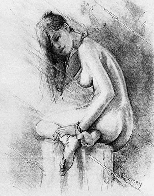 dibujos-de-mujeres-pintadas-a-lapiz