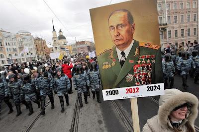 Favorito para voltar à Presidência, Putin terá que lidar com uma Rússia diferente
