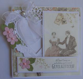 Creaties Suzan op FB- Challenge Huwelijkskaartje/jubileum