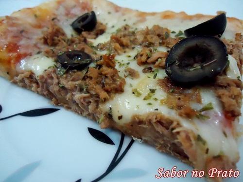 Pizza de Atum delícia!!