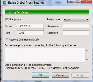 Cara Setting Proxi Pada Bitvise Sesuaikan dengan injek yang digunakan
