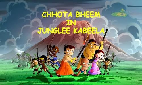 Poster Of Hindi Movie Chota Bheem in Junglee Kabeela (2013) Free Download Full New Hindi Movie Watch Online At worldfree4u.com