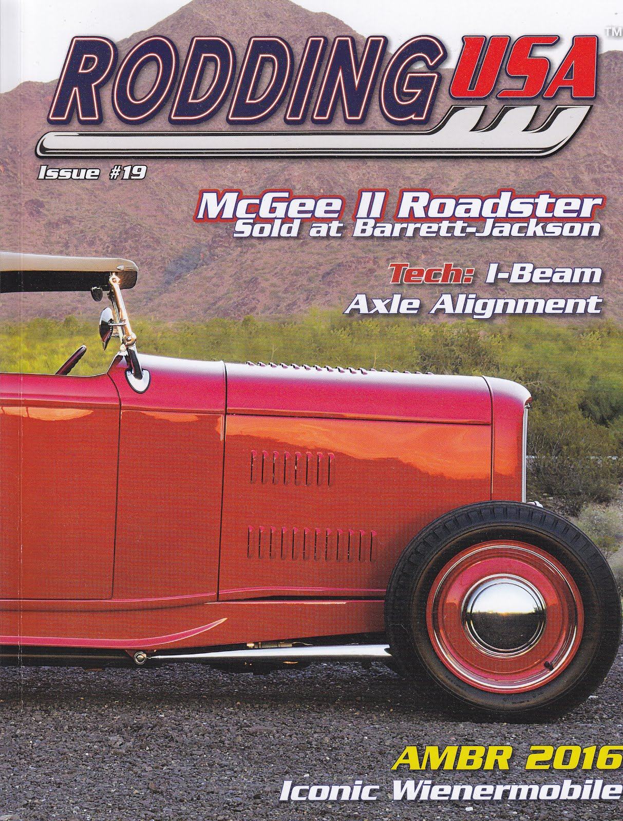 "The Latest Issue of ""Rodding USA"" profiles our own Fuzzy by Dale Moreau"