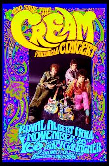 Cream Farewell Concert Poster