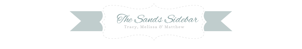 The Sands Sidebar