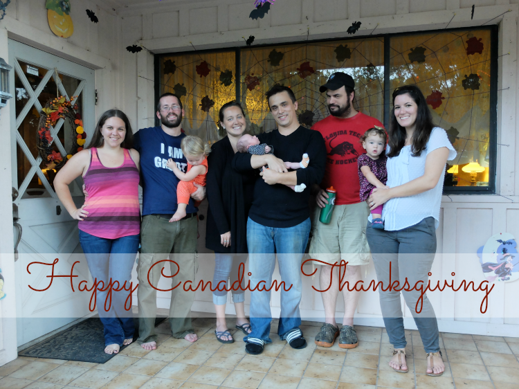 5th Annual Canadian Thanksgiving Party!