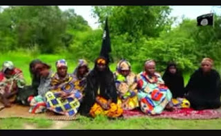 Boko Haram Release Video Of 10 Women Abducted From Police Convoy In Borno (Photos).