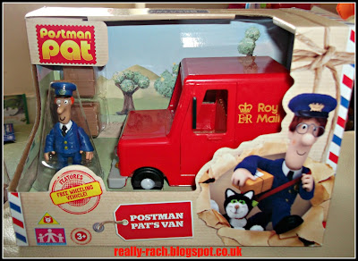 Postman Pat van in the box