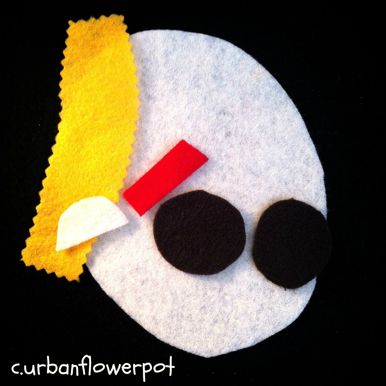 felt board, toddler felt activity