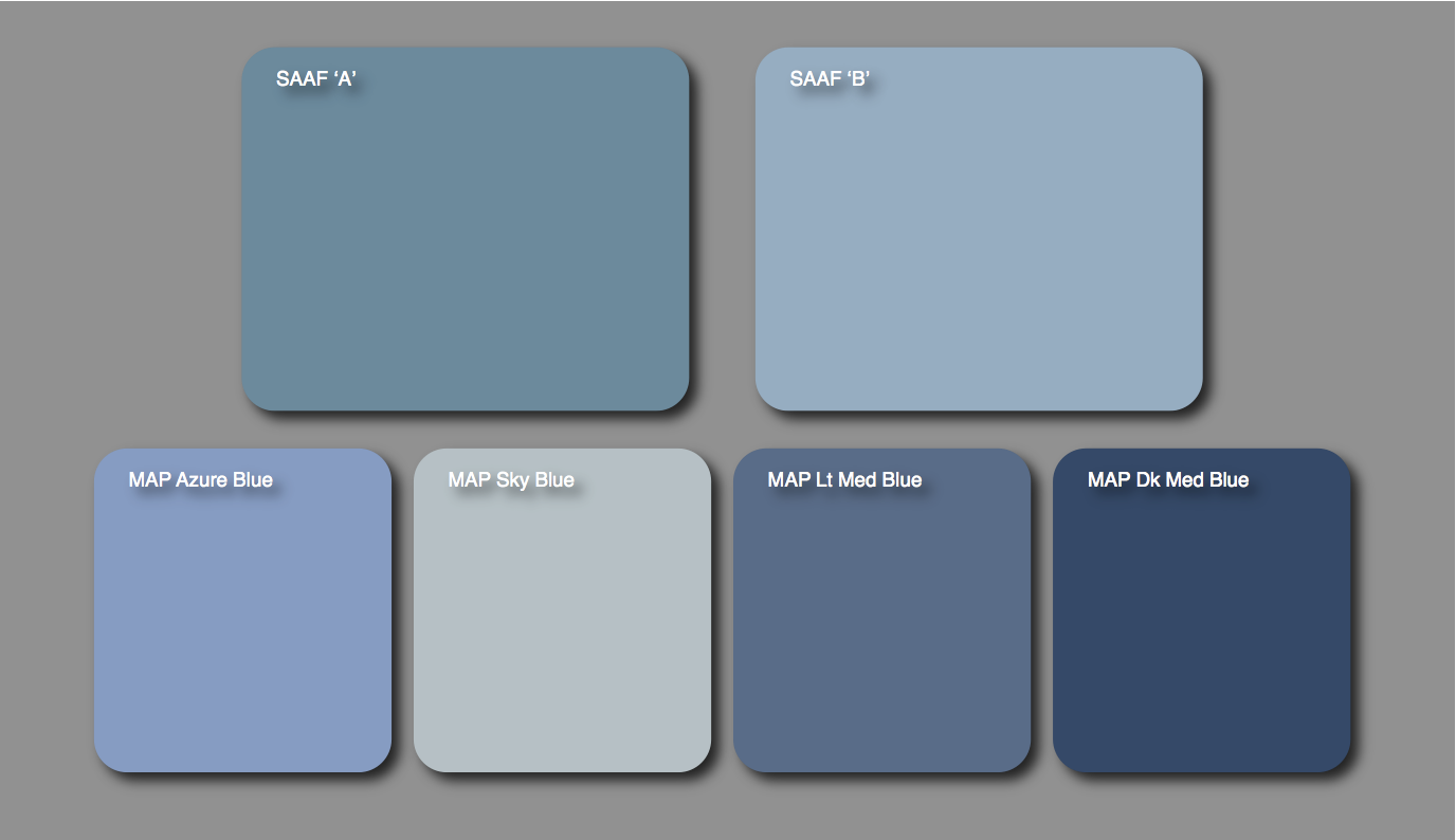 Air Force Blue Wall Paint