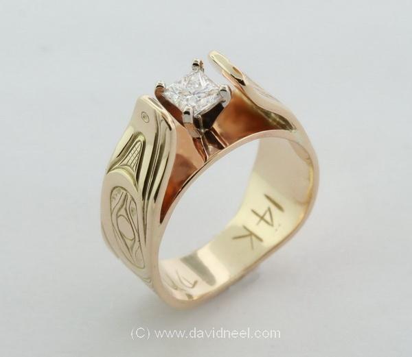 David Neel Studio: Native American Wedding Rings: A Reflection of ...