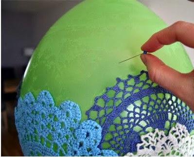 DIY: Lámpara a Crochet Paso 3
