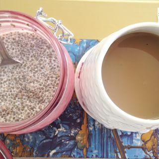 Chia Seed Pudding & Coffee