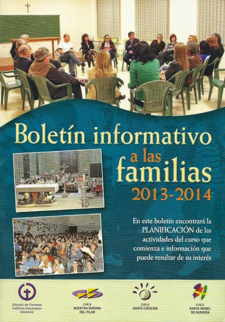 Boletín Informativo 2013-14