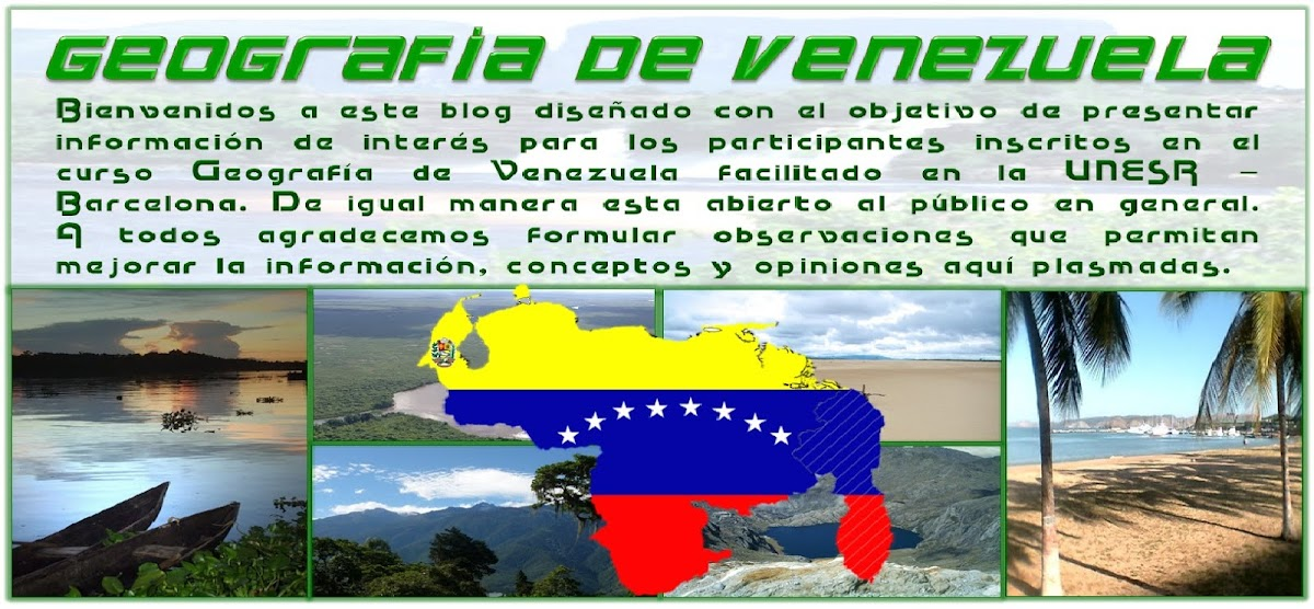 Geografía    de    Venezuela.