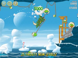 Angry Birds Seasons On Finn Ice v4.3.3 Mod Apk 2015 screenshot  by jembersantri
