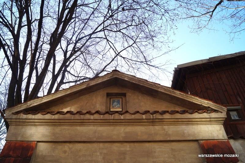 Warszawa Karowa Śródmieście klasztor kościół wizytek Krakowskie Przedmieście ksiądz